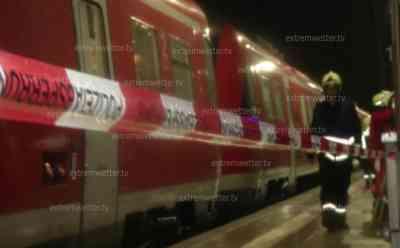 Regionalbahn entgleist auf Grund von Schlammlawine: Regionalbahn stürzt in Wald, 8 Personen verletzt